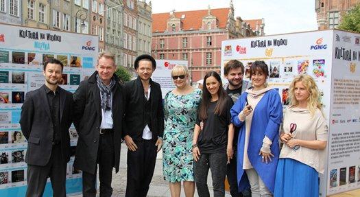 Artyści wspierają Kulturę Na Widoku - galeria