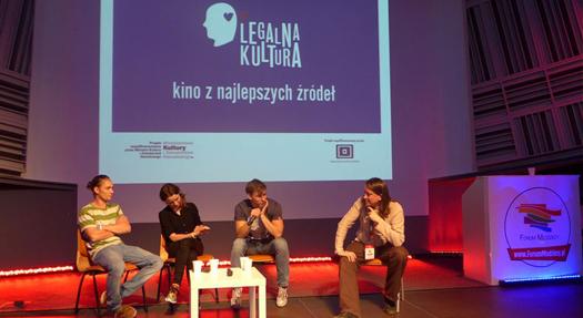 Legalna Kultura na Forum Młodzieży wWarszawie