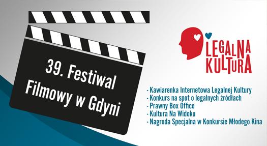 Z Legalną Kulturą na Festiwalu Filmowym WGdyni