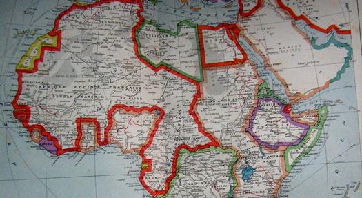 Czy kształt/obrys granic państwowych jest chroniony prawem autorskim?