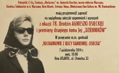 78 urodziny Agnieszki Osieckiej