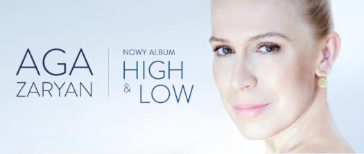 High & Low. Nowa płyta autorska Agi Zaryan