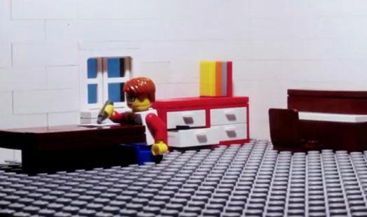 Łyk sztuki do kawy - Minifigurki LEGO