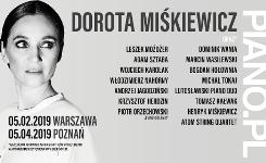 PIANO.PL Doroty Miśkiewicz ponownie na koncertach wpełnej wersji