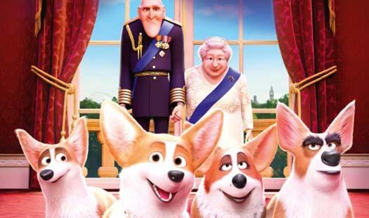 W czerni kina: Corgi, psiak Królowej