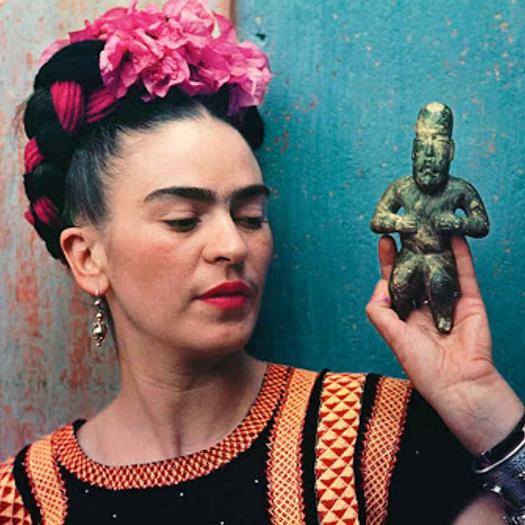Łyk sztuki do kawy zFridą Kahlo