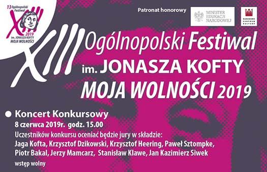 XIII Ogólnopolski Festiwal im. Jonasza Kofty