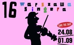 XVI Festiwal Kultury Żydowskiej Warszawa Singera