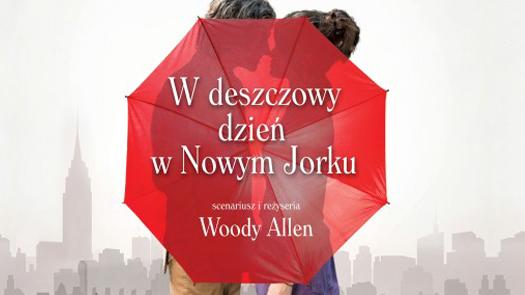 """W czerni kina """"W deszczowy dzień wNowym Jorku"""""""