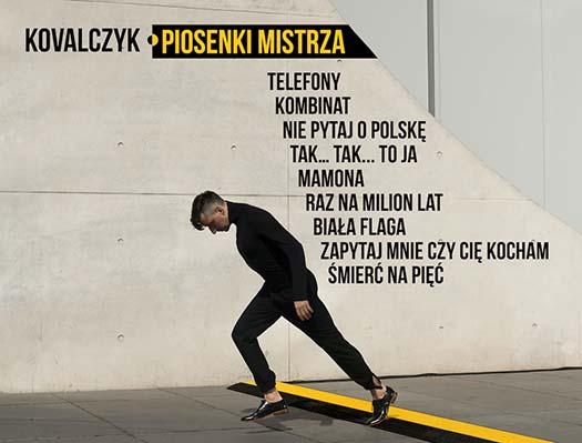"""KONKURS! """"Piosenki Mistrza"""" - utwory Grzegorza Ciechowskiego wwykonaniu Kovalczyka"""