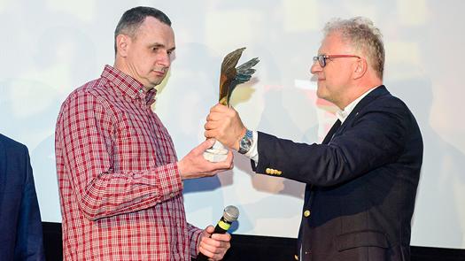 Orzeł Specjalny 2019 za Odwagę iNiezłomność dla Olega Sencowa