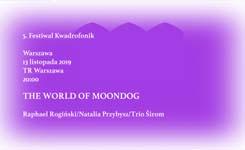 THE WORLD OF MOONDOG wTR Warszawa