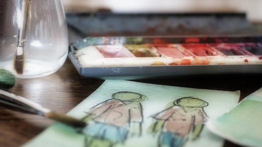 Awantura odziecięcy rysunek - czy każda szkolna praca dziecka podlega ochronie prawa autorskiego?