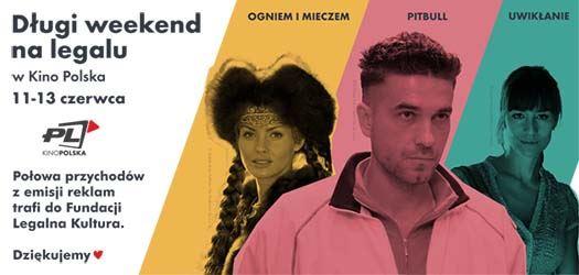 Kino Polska wspiera Fundację Legalna Kultura