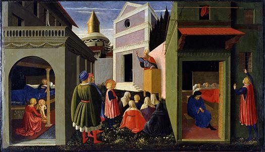 Łyk sztuki do kawy ze św. Mikołajem