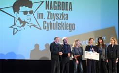 Marta Nieradkiewicz zNagrodą im. Zbyszka Cybulskiego