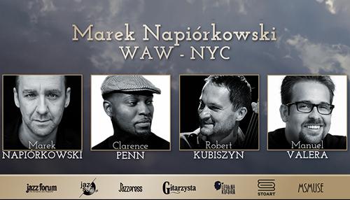 WAW-NYC - Marek Napiórkowski wtrasie
