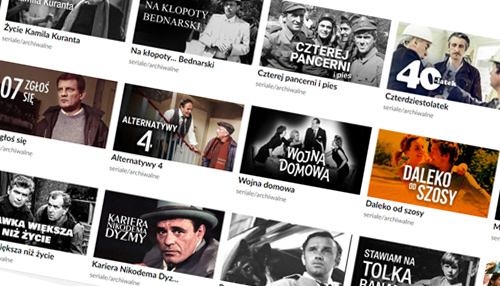 Kultowe polskie seriale wnowej odsłonie TVP VOD