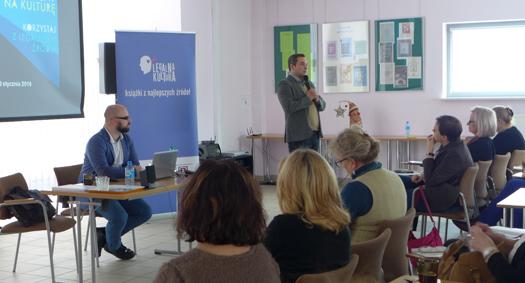 Szkolenie dla bibliotekarzy, Warszawa, Pedagogiczna Biblioteka Wojewódzka