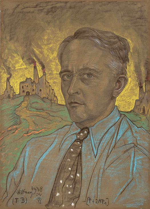 Łyk sztuki do kawy - Autoportret 1938 r.