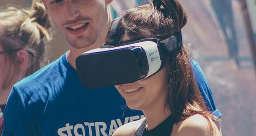 Korzystanie ze sprzętu VR (wirtualnej rzeczywistości) wcelach zarobkowych