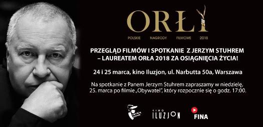 Przegląd Filmów Jerzego Stuhra wIluzjonie - Orły 2018