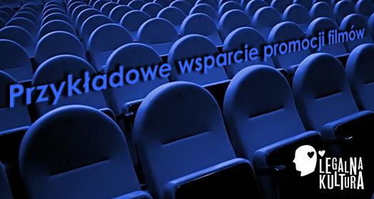 Przykładowe wsparcie promocji filmów