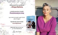 Premiera książki Kingi Dębskiej