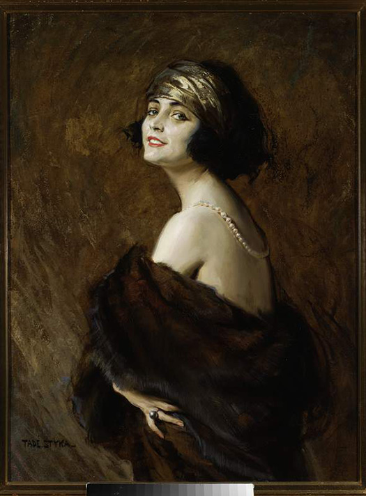 Łyk sztuki do kawy - Pola Negri