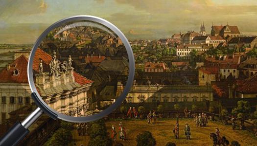 Warszawa z1773 roku na kliknięcie myszką