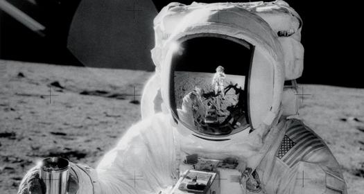 Zdjęcia zProgramu Apollo wdomenie publicznej