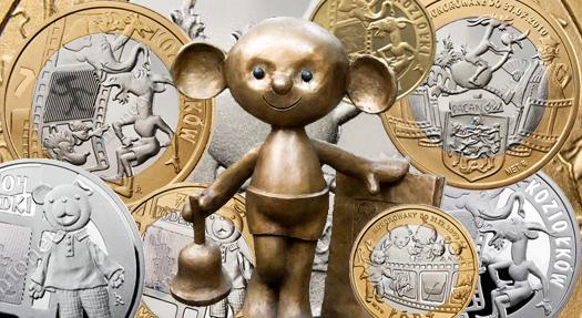 Z książki dla dzieci na monetę