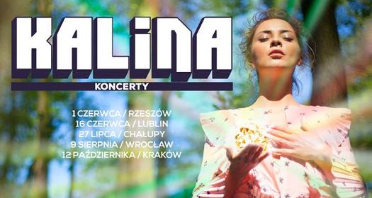KALINA wyrusza wswoją pierwszą trasę koncertową po Polsce