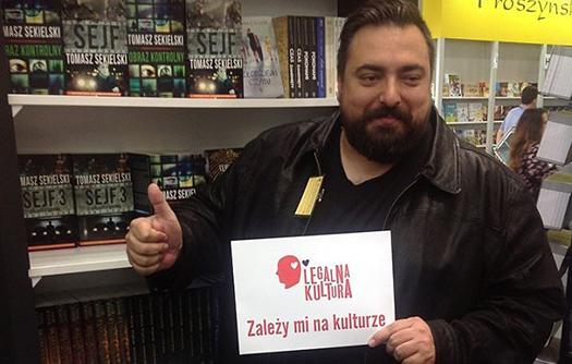Legalna Kultura na Targach Książki wKrakowie