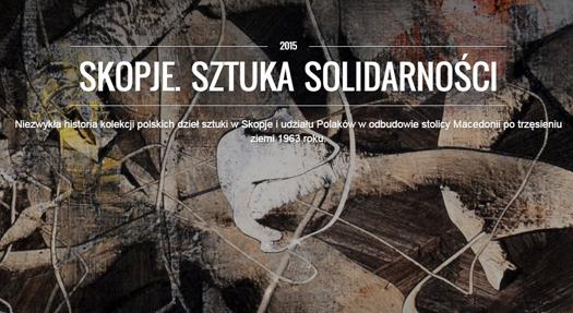 Skopje. Sztuka solidarności - niezwykły gest artystów
