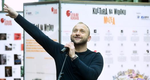 Borys Szyc na zakończenie V edycji Kultury Na Widoku