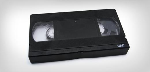 Projekcja filmów zkaset VHS wbibliotece