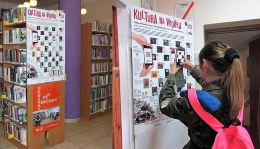 Dostęp do kultury wTwojej bibliotece idomu kultury!