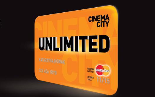 Filmy bez limitu. Rewolucyjna oferta Cinema City