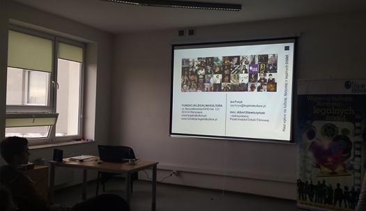 Warsztaty wPaństwowej Wyższej Szkole Zawodowej wPłocku