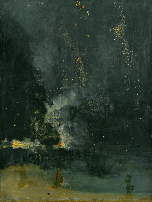 Łyk sztuki do kawy zfajerwerkami Whistlera